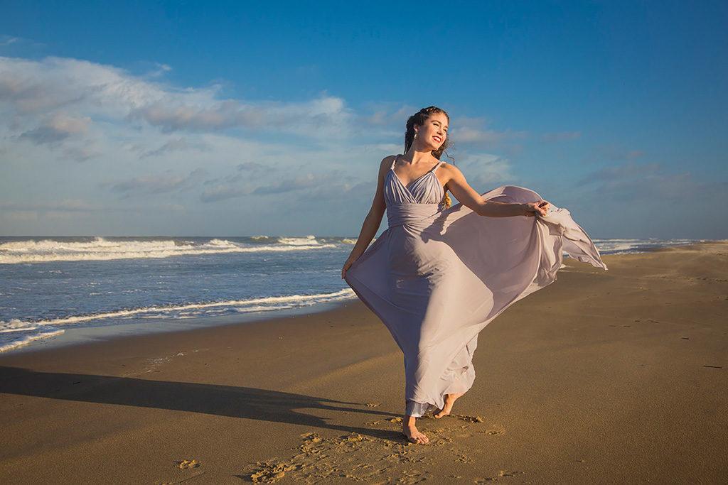 Model Photography - Virginia Beach Oceanfront